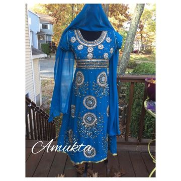 Picture of Blue Party wear dress
