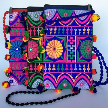 Picture of Embroidered Sling Bag
