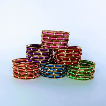 Picture of Silk thread Bangles