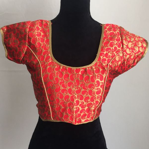 Picture of Red braso blouse