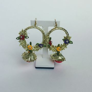 Picture of Gotapatti ring style earring