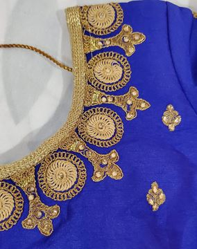 Picture of Royal Blue blouse