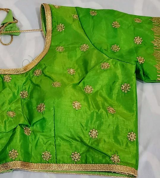 Picture of Parrot Green blouse