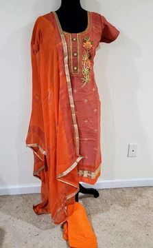 Picture of Cotton silk suite