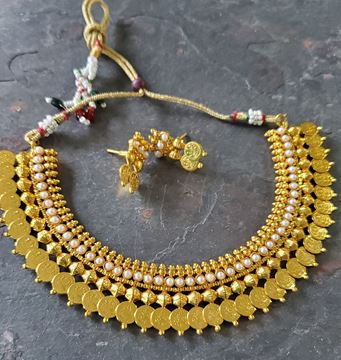 Picture of Golden coin necklace