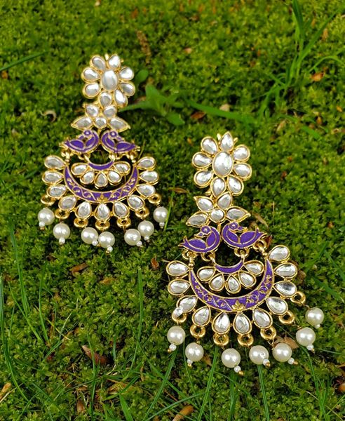 Picture of Purple  Earrings