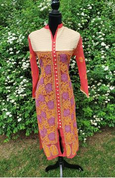 Picture of Multicolored Georgette Kurta