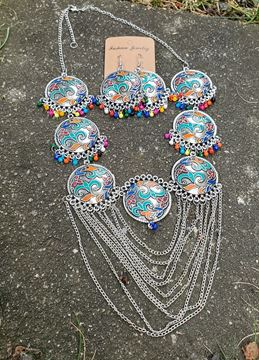 Picture of Meenakari necklace