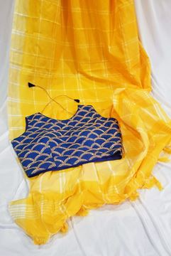 Picture of Yellow saree