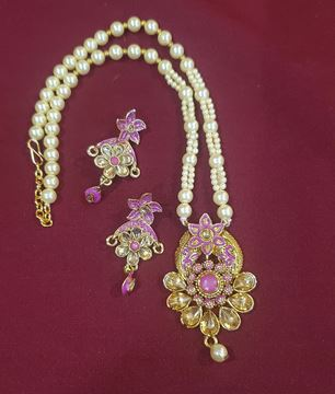Picture of Pink pendent set